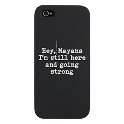 Funny Mayan Taunt Black iPhone 5 Case