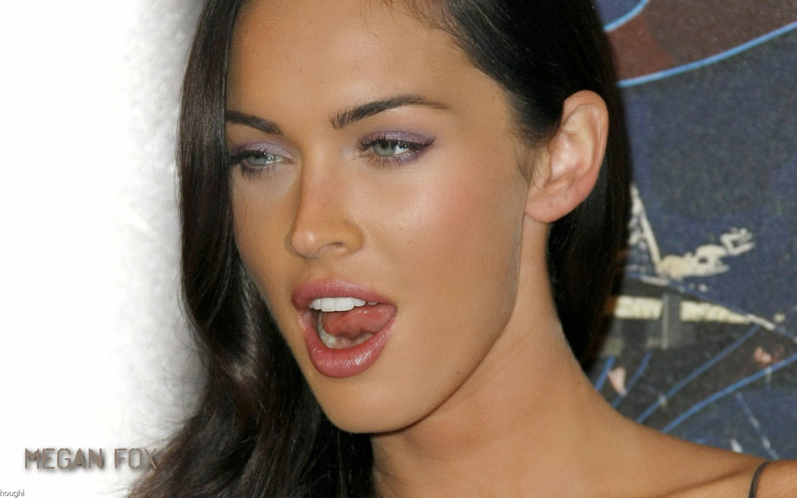 Megan Fox eye makeup