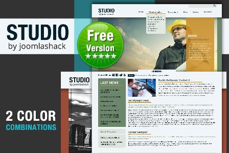 Free JS Studio Joomla Template For 1.5//1.7/2.5