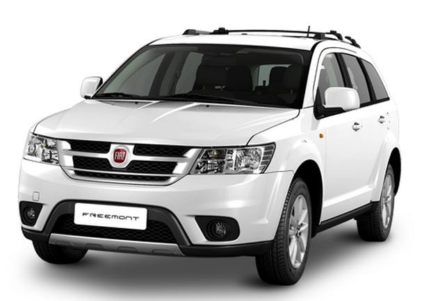 a car Fiat Freemont 2014