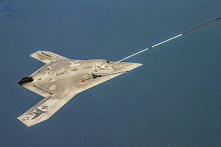 UNMANNED AIRCRAFT REFUELS IN FLIGHT