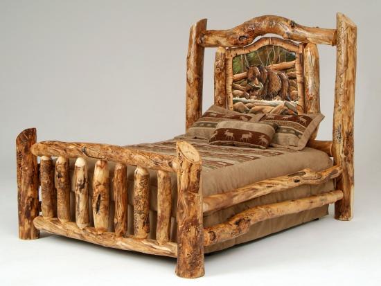 CAMAS DE MADERA - WOOD BEDS : DORMITORIOS