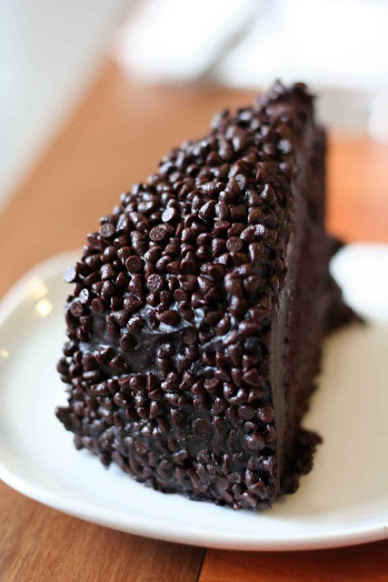 Blackout Chocolate Cake
