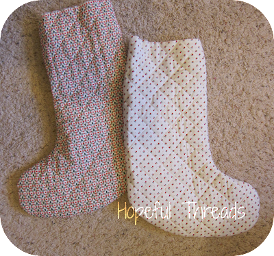 Hopeful Threads Easiest Stocking Tutorial Ever
