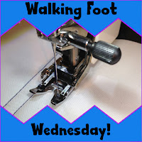 walking foot wednesday | machine quilting