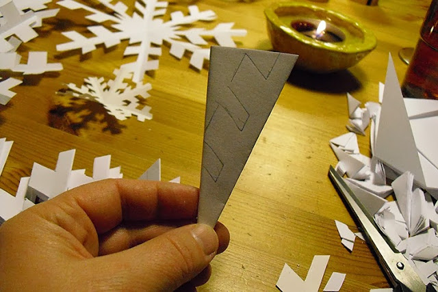how cut a snow star by frauschoenert