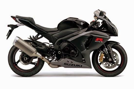 2015 Suzuki GSX-R1000 ABS Glass Sparkle Black