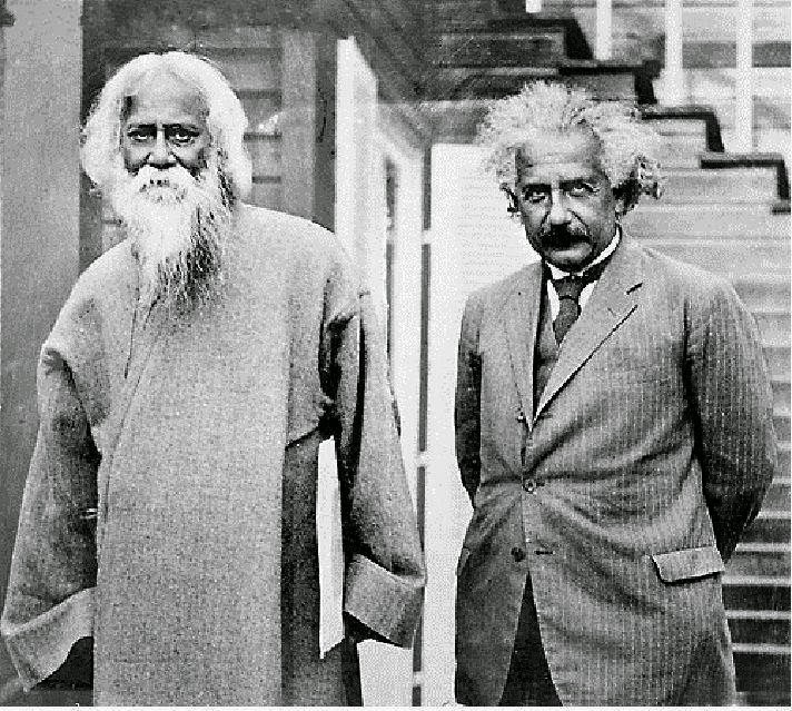 Rabindranath Tagore and Albert Einstein - 1930