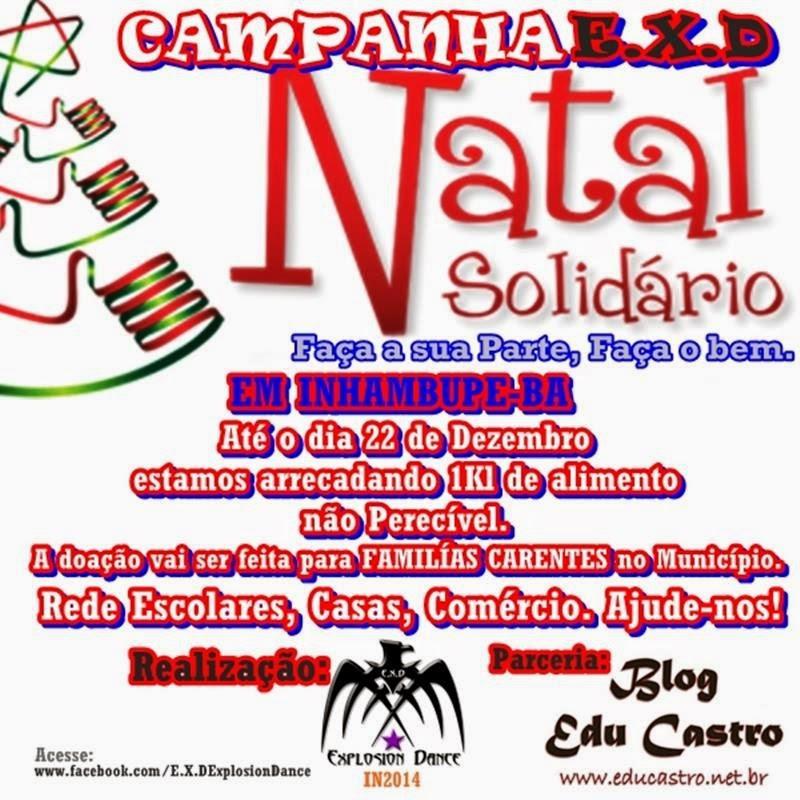 Campanha EXD Natal Solidário