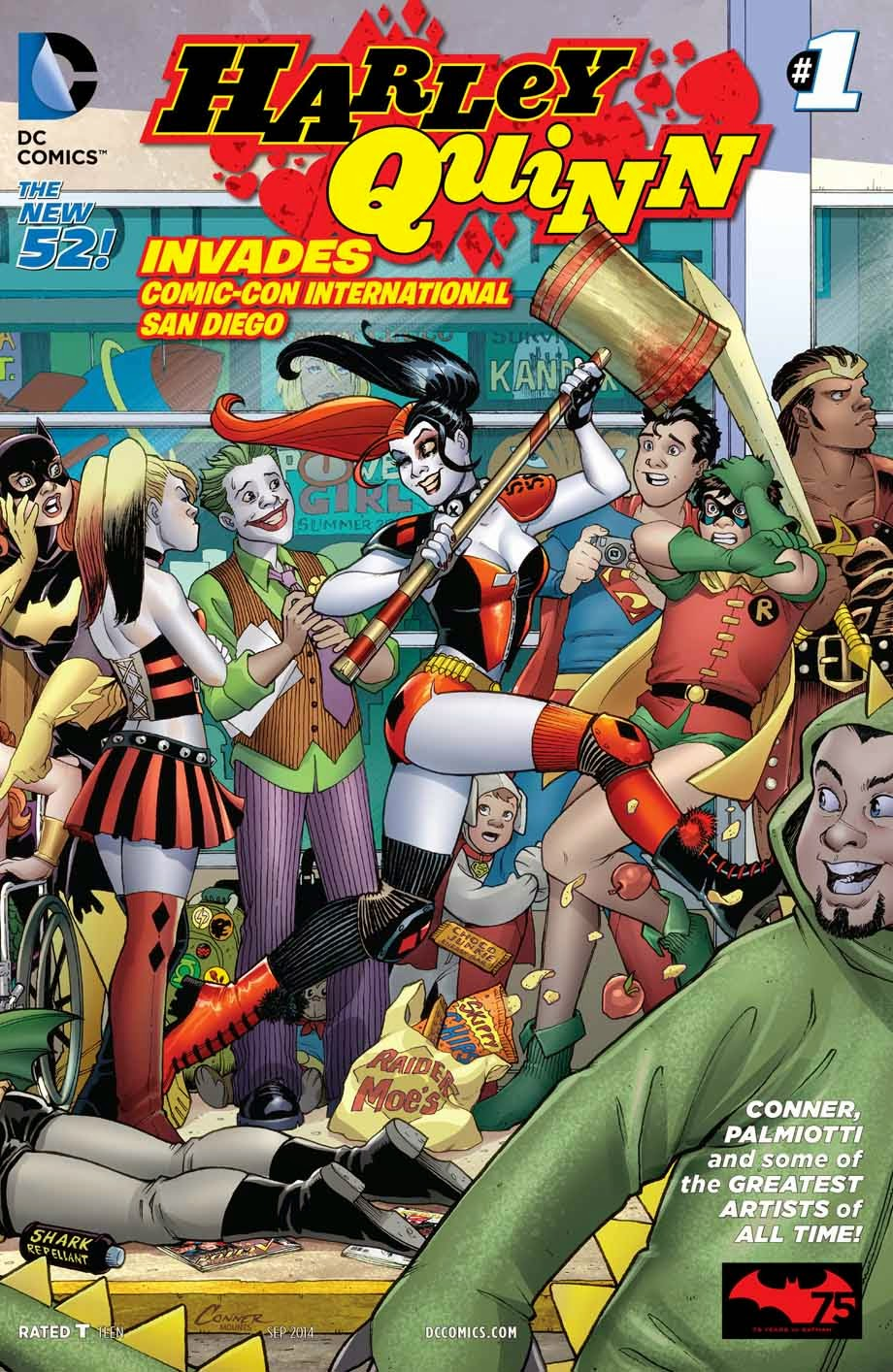 Harley Quinn Invades SDCC