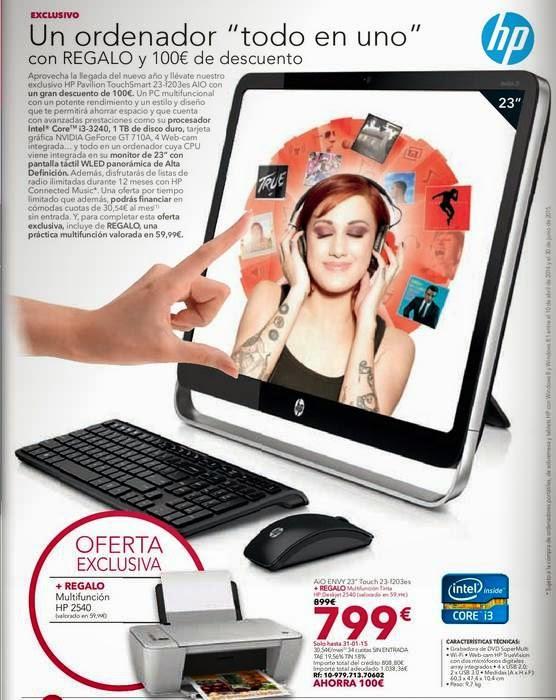 HP Pavilion TouchSmart 23-f203es 799€ 1-15