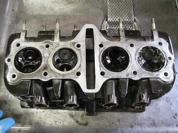 kawasaki Z1R cylinder head