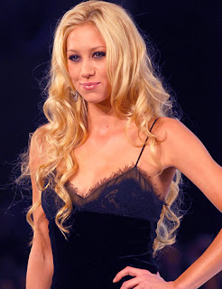 Anna Kournikova Long Blonde Hairstyles - Celebrity Hairstyle Ideas for Girls