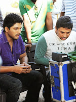 Race Gurram Movie Working Stills-cover-photo