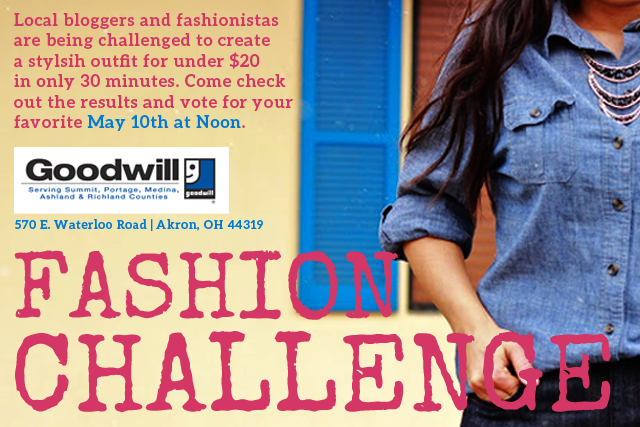 Akron Fashion Challenge - Goodwill