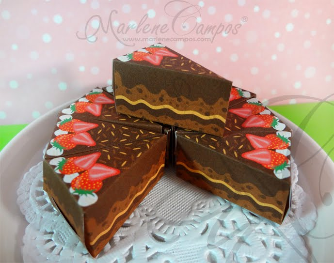 Slice Cake Boxes