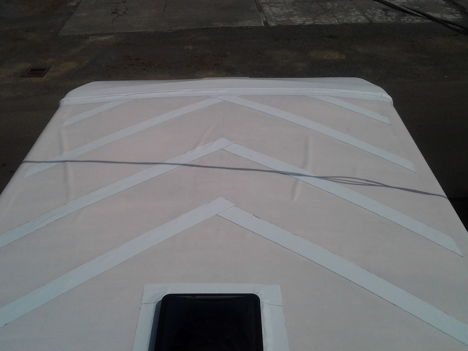 EternaBond Roof Seal, Roofing Nails And A Design To Battle The Dreaded  Rubber Roof BUBBLE