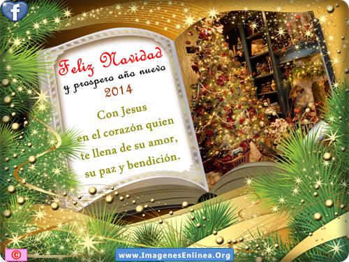 Feliz Navidad y Próspero Año Nuevo, Tarjetas Navideñas para compatir en Facebook