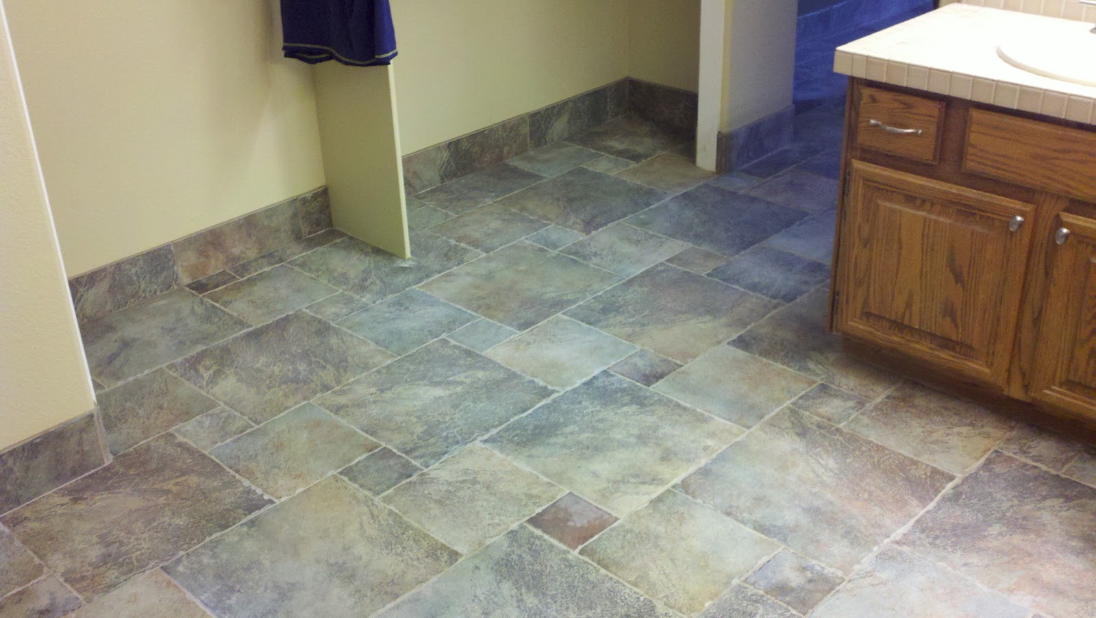 Barton Tile LLC Porcelain Tile with 20x20 6x6 and 13x13