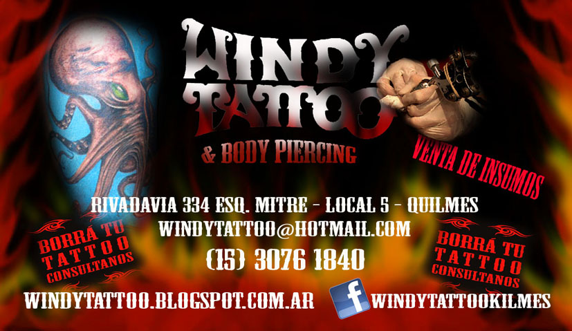 Windy Tattoo Quilmes