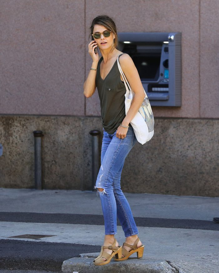 Keri Russell, Out in New York City