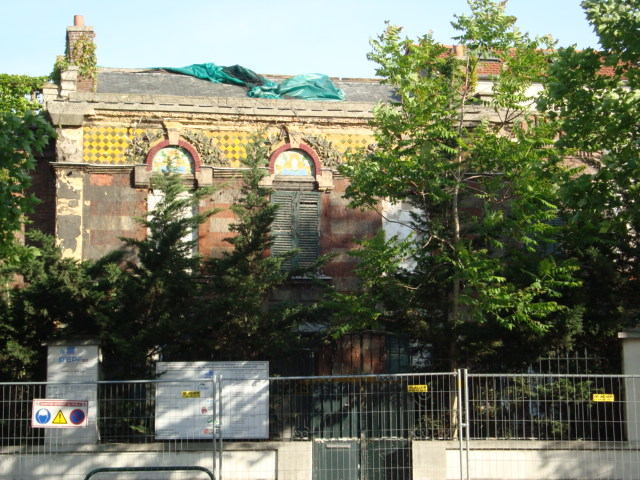 Paseos art nouveau destruction d 39 une maison art nouveau au 40 avenue pa - Destruction d une maison ...