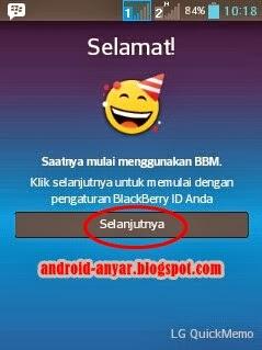 Selamat Datang di BBM for Android