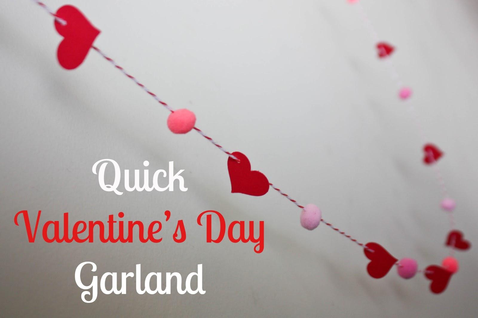 vixenMade: Quick Valentine's Day Garland