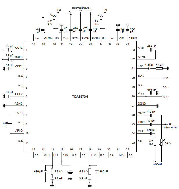 amplifiercircuits com  sound decoder