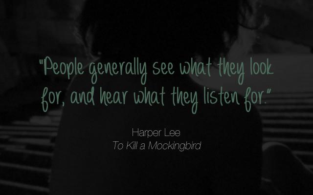 Harper Lee, To Kill a Mockingbird, quotes, Wynzie Chai, Hood scarf, hooded scarf