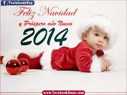 Frases De Año Nuevo: Feliz Navidad Y Próspero Año Nuevo 2014 Bebé