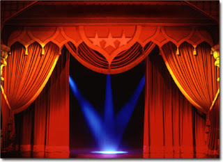 Window-Stage Curtains Photo