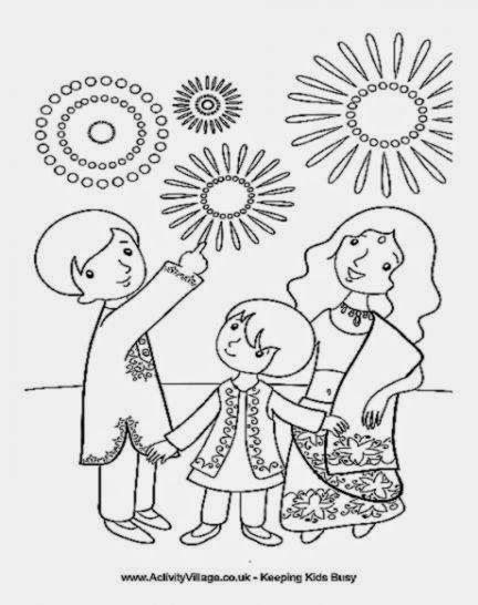 Diwali coloring sheets for kids free coloring sheet for Free diwali coloring pages