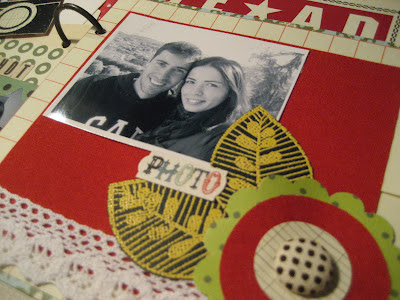 Scrapbooking: mini álbum amor