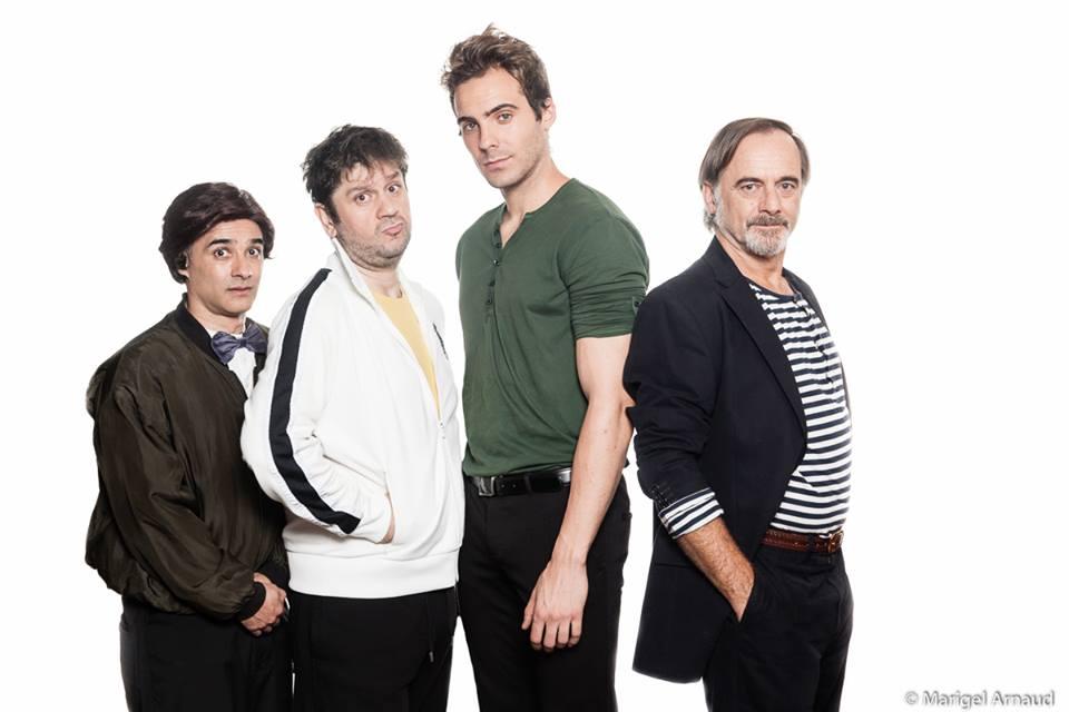 De izquierda a derecha; David González, Fran Arráez, José Ángel Trigo y Alfonso Torregrosa - Fotografía de Marigel Arnaud