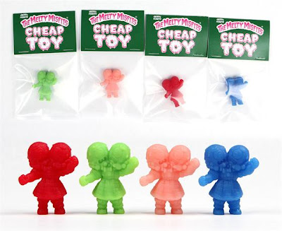 Melty Misfits Cheap Toys Resin Figures by Buff Monster