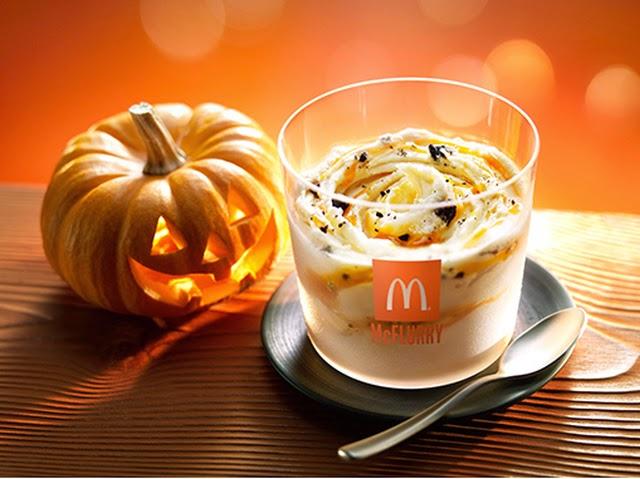 Halloween Pumpkin Oreo McFlurry