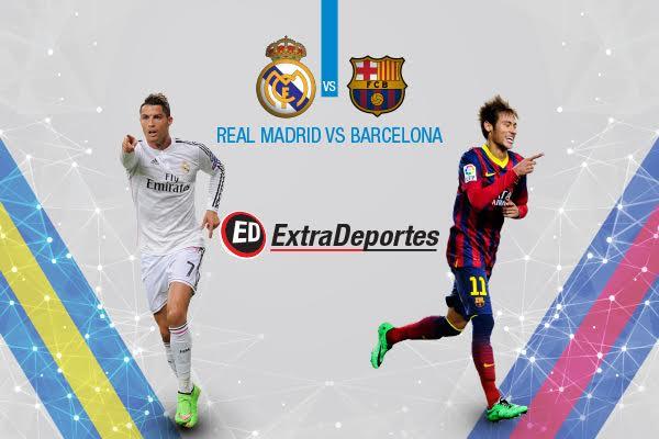 Real Madrid vs Barcelona 21 noviembre 2015