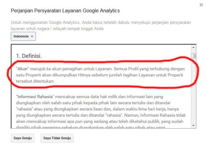 google analityc berbayarkah