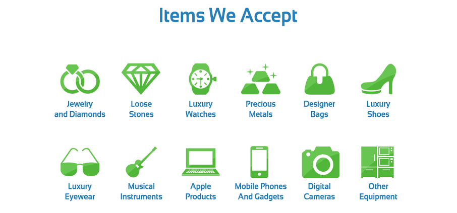Items We Accept