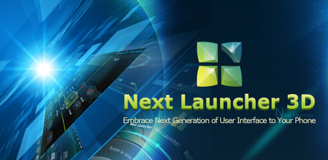 next launcher 3d  cracked