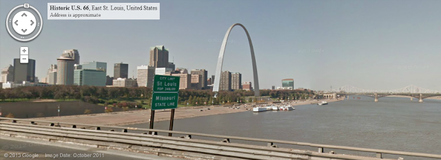 St Louis Missouri Google Street View