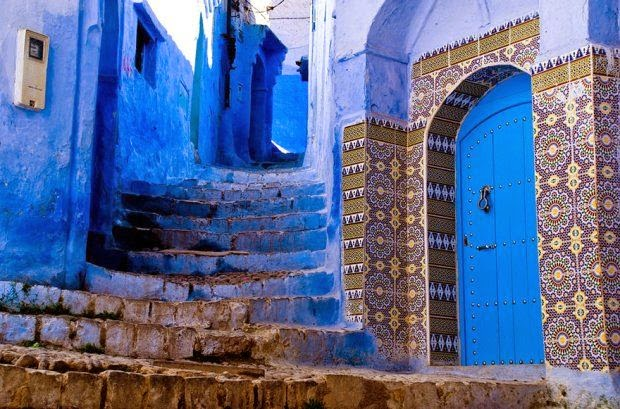 Wwwkeralitesnet Entirely Blue Old Town Of Morocco - Old town morocco entirely blue