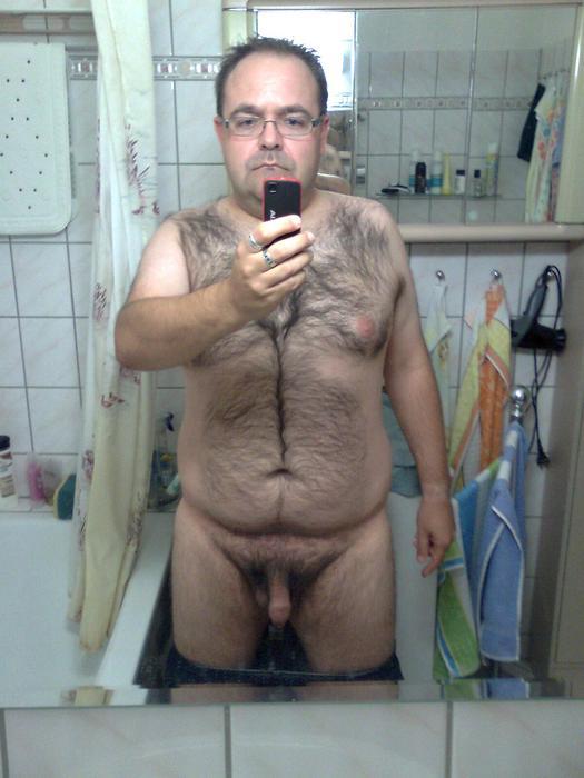 Gay fat men naked golden