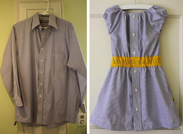 Как переделку сделать платье