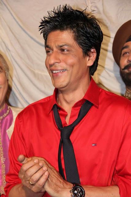 Bollywood Press: Shah Rukh Khan Spic Hair Style