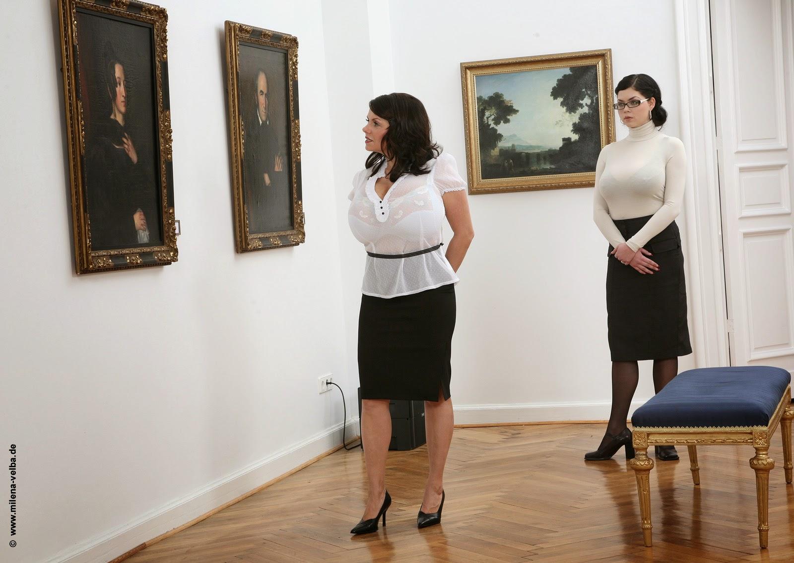 MILENA VELBA: milena velba touching art with shione