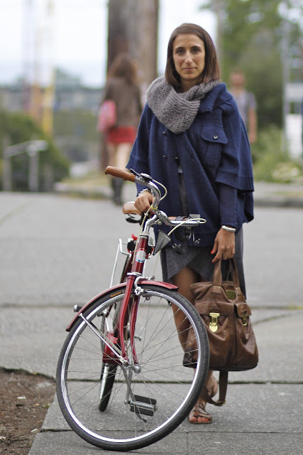 Daphne Maurides Bike Capitol Hill It's My Darlin' Seattle Street Style Fashion