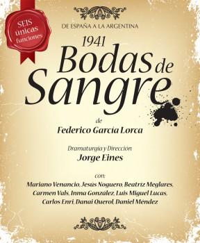 Seguimos soñando con Lorca en Buenos Aires Publicado por 1941.BODAS DE SANGRE