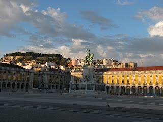 La plaza del comercio. Lisboa
